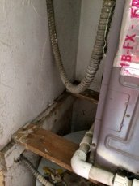 Central AC leak mold