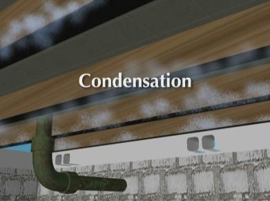 Condensation in Crawl Space