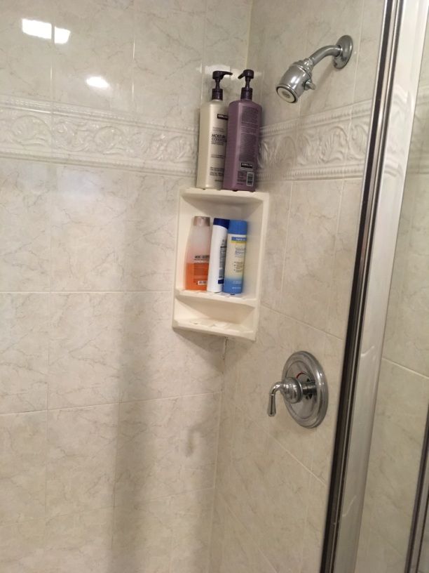 shower with mold