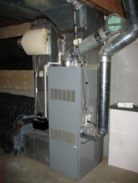 furnace dehumidifier