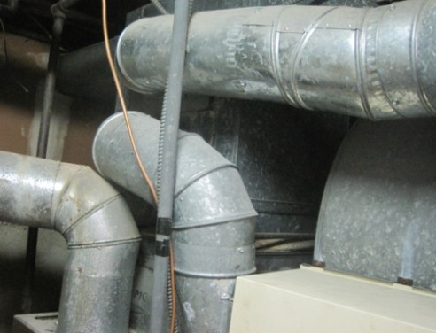 mold in heating ducts